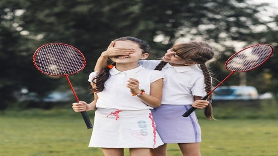badminton for children