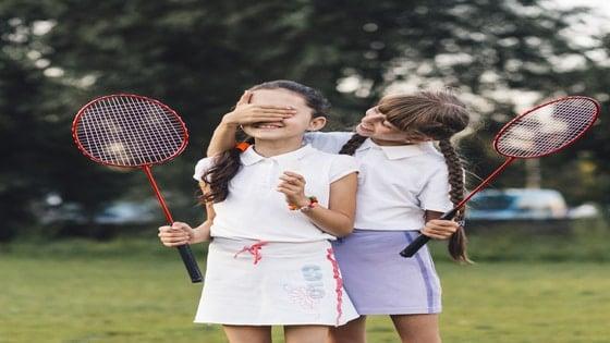 badminton for children