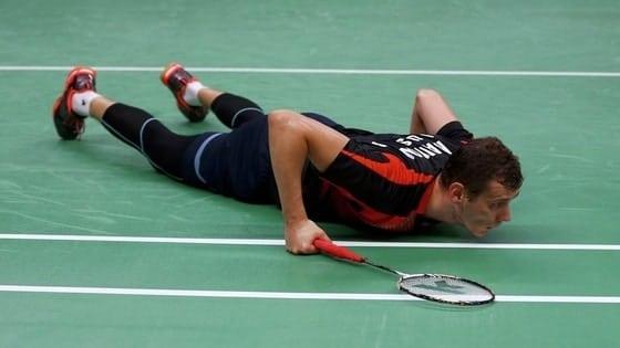 common badminton injuries